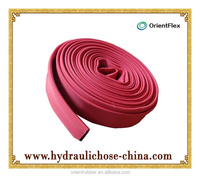 best quality cheap fire lay flat hose with pvc lining
