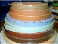 Solid color of PVC edge banding for kitchen cabinet/plastic edge band