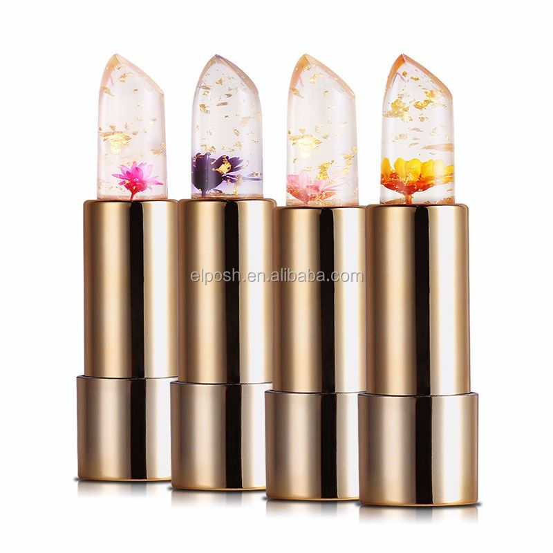 Magic Color Temperature Changing Jelly Flower Lipstick
