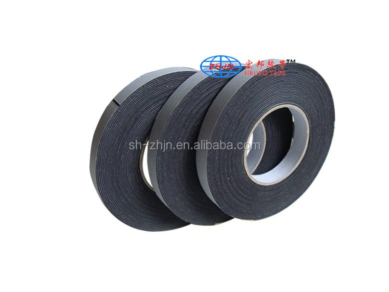 strong adhesive rubber foam insulation tape