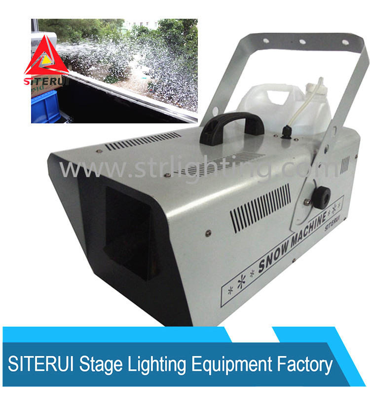 Snow Maker Machine 1500W powerful and Beautiful Stage effect/Holiday Snow Machine