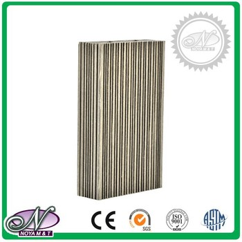 Eco-friendly recycled decking waterproof wood plastic composite board