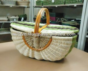 Eco-friendly empty picnic baskets for sale