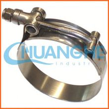 china supplier anodized hose clamps