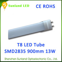 China manufacture AC85-265V SMD2835 CE ROHS led red tube sexy 8