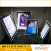 Advertising acrylic crystal light box for transparent poster frame picture frame