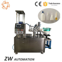 Adhesive Glue Resins Paste Bottle Filling Capping Machine