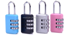 Reset Luggage Security Padlock Suitcase Combination Lock