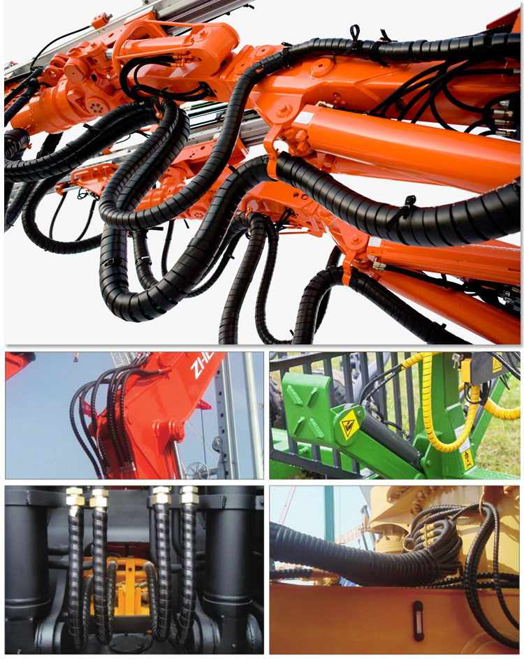 Best high quality hydraulic hose protection sleeve