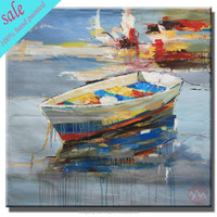Modern ship oil painting