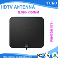 manufacturer film thin digital 470-862MHZ DVB-T/ISDB active vhf/uhf Indoor HDTV Antenna
