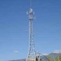 Steel Angle Telecommunication Antenna Tower