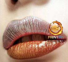 New style temporary lip tattoo 3d hologram sticker
