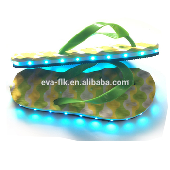 Fashion Design LED Flip Flops