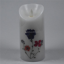 Customed Luxury Brand frosted led glass candle led candle /flameless votive led candles with remote