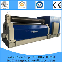 W11 2 meters rolling machine 16mm plate rolling 3 roller rolling machine