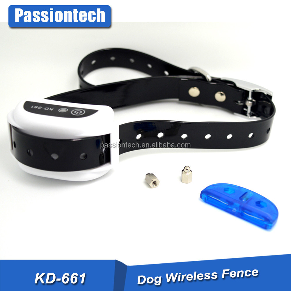 KD-661 No Wire Dog Fence Wireless Pet Containment System - Rechargeable & Water Resistant Receiver Collar
