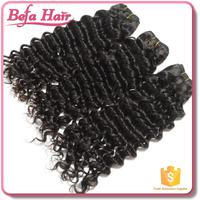 Befa Hair 7A Malaysian virgin hair weft,100% wavy wholesale raw hair
