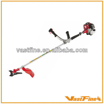 Professional gasoline brush cutter/grass trimmer 43cc VFCG430A with metal blade