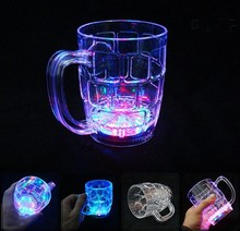 2016 fashion LED flash light cup for evening party