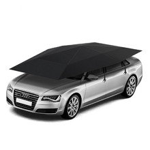4.2m 4.8m car roof shade cover automatic car umbrellas with remote control