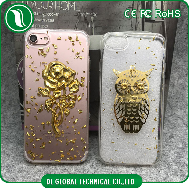 Latest 5g mobile phone case gold plating stuff tpu case for apple iphone 7