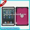 Luxury Chrome Plating Bling Star Diamond Hard Case for Apple iPad Mini