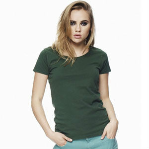 BODY FIT T-SHIRT FOR WOMENT OEM SERVICE (CODE: WTS009)