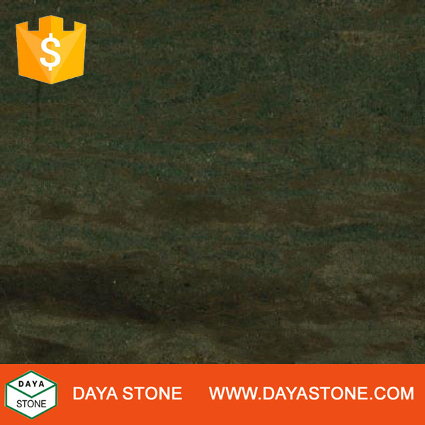 Natural Verde Bamboo Granite slabs