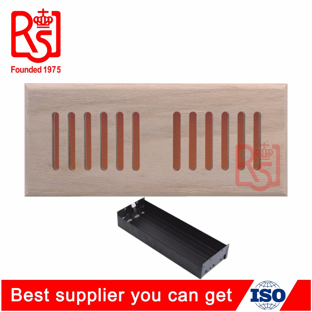 Discount Air Conditioner Ventilation Solid Wooden Floor Vent Grille