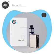 Auro:Retro most popular products super power big vapor 60w mod box watt e cig box mod wholesale