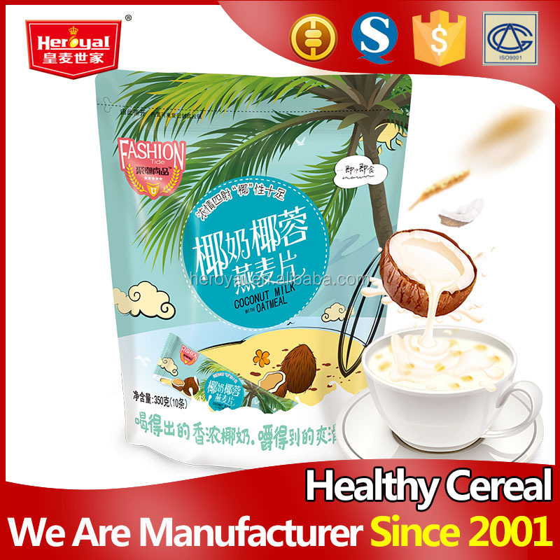 350g Instant chewable coconut milk oatmeal powder