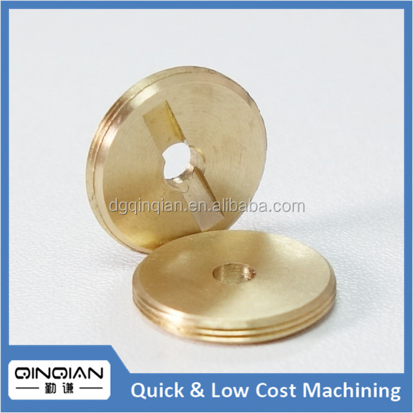 Precision CNC machining small metal brass hardware parts for sensor switch