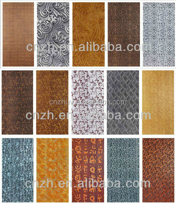 perforated mdf wall board 3d wood design panel embossed mdf decorative wall board