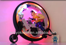 New Design! 1:16 RC Single wheel stunt action;Super MonoWheel / RC Car