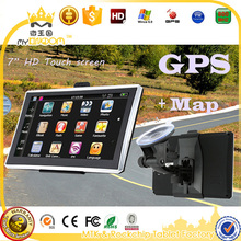 7 inch HD Car MTK MS2531 OS CE 6.0 Truck GPS Navigation 800M/FM/8GB/DDR 256M Newest Maps Video Play Car Entertainment System