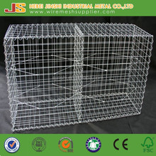 200x100x50 hot dipped galvanized mesh panel welded gabion cage