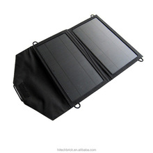 Hot! 2016 Intelligent, 10w Folding Solar phone tablet charger price