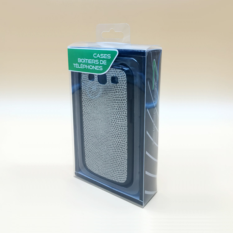 Custom New Blister PVC Plastic Packaging Clear Box for Cell Phone Case