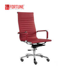 cheap but good quality ultra high back lift red chair for office home used