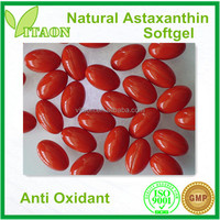 400 mg ISO,GMP Certificate and OEM Private Label Best Natural Astaxanthin Softgel Capsule for Skin Care