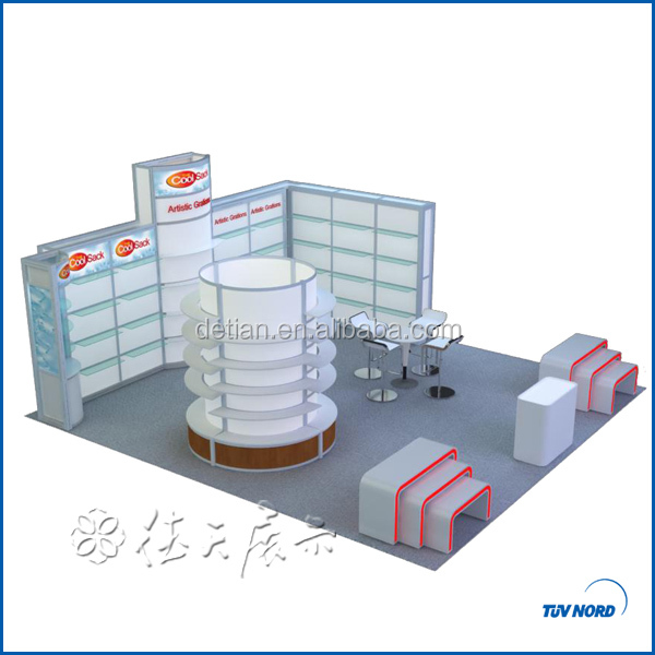 Shanghai portable exhibition display inflatable photo booth from China for USA company