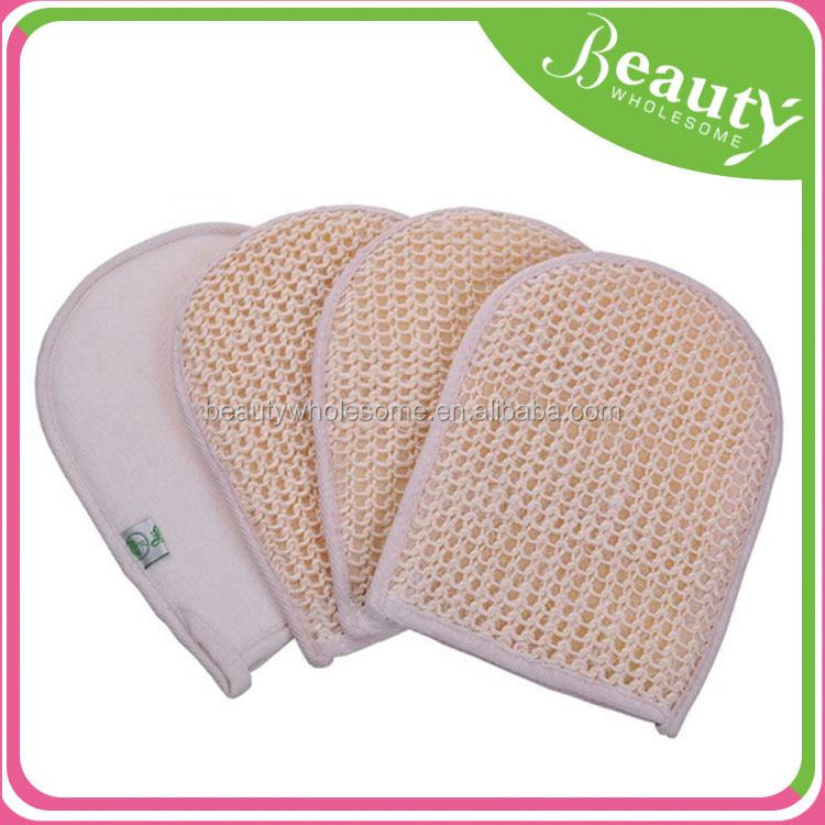 shower gloves ,H0T010, silk exfoliating bath gloves