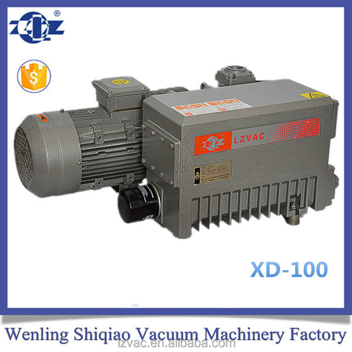 SV100 Oil Lubricated Rotary Vane Vacuum Pump for Central Medisystem Applied