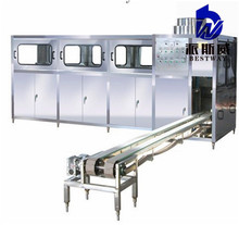 New technology full automatic 5 gallon bucket washer/5 gallon barrel machine/jar water bottling line