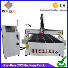 Portable smart cnc router plastic sheet cutting engraving machine Syntec controller system ATC for wood