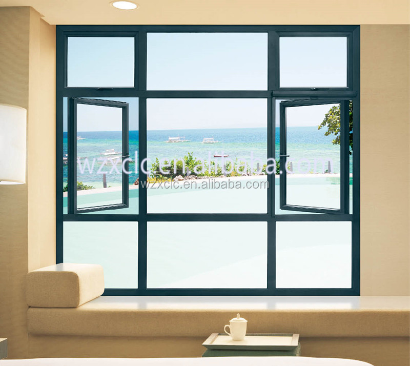 Enduit de poudre d 39 aluminium baie vitr e lowes fen tres id for Baie vitree 6 metres