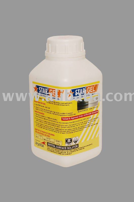 "Stainless Steel Pickling Paste / Gel - ""STAR Gel''"