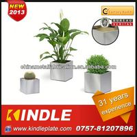 Kindle custom stainless steel planter flower pot stand