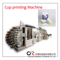8 colour cup printing machine with hight productivity and outstanding print auality